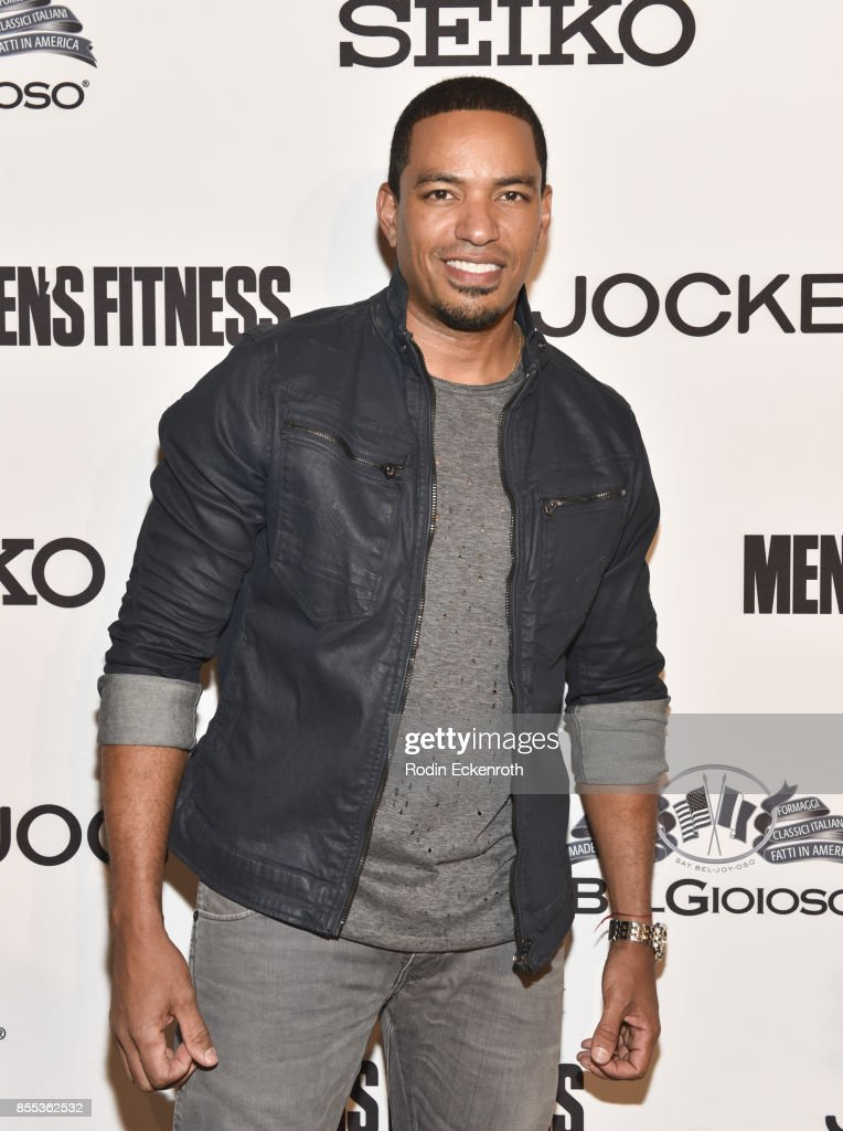 Laz Alonso arrives at Men's Fitness 2017 Annual Game Changers event at a private residence on September 28, 2017 in Beverly Hills, California.