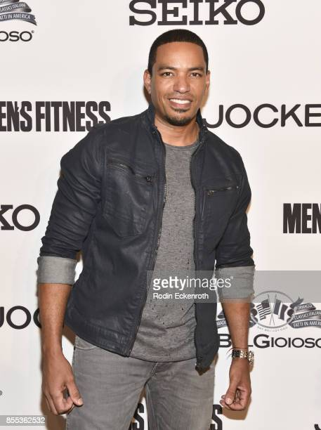 Laz Alonso arrives at Men's Fitness 2017 Annual Game Changers event at a private residence on September 28 2017 in Beverly Hills California