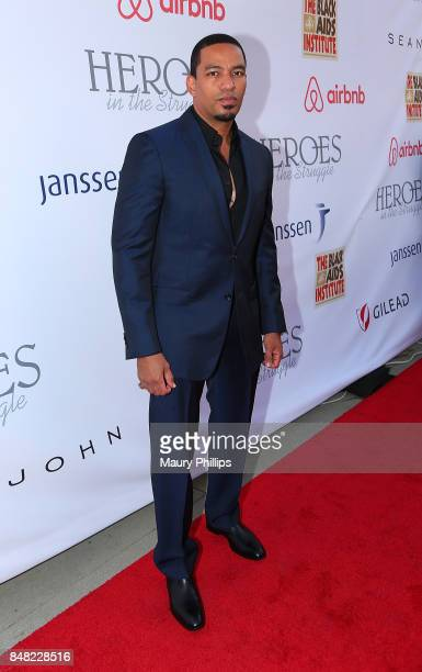 Laz Alonso arrives at the 16th Annual Heroes In The Struggle gala reception and awards presentation at 20th Century Fox on September 16 2017 in Los...
