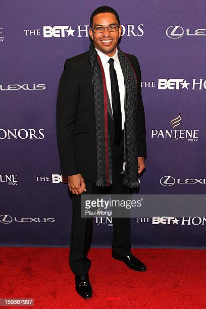 Laz Alonso attends BET Honors 2013 Red Carpet Presented By Pantene at Warner Theatre on January 12 2013 in Washington DC