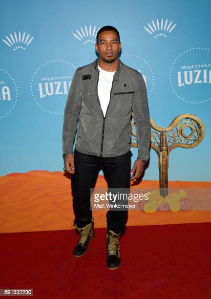 Laz Alonso attends Cirque du Soleil presents the Los Angeles premiere event of 'Luzia' at Dodger Stadium on December 12 2017 in Los Angeles California