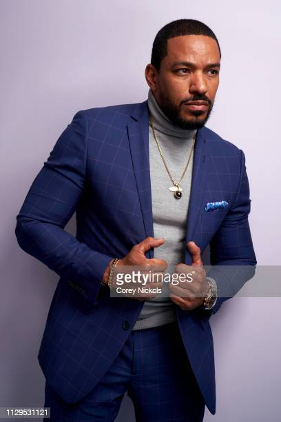 Laz Alonso of Amazon Prime Video's 'The Boys' poses for a portrait at The Langham Huntington Pasadena on February 13 2019 in Pasadena California