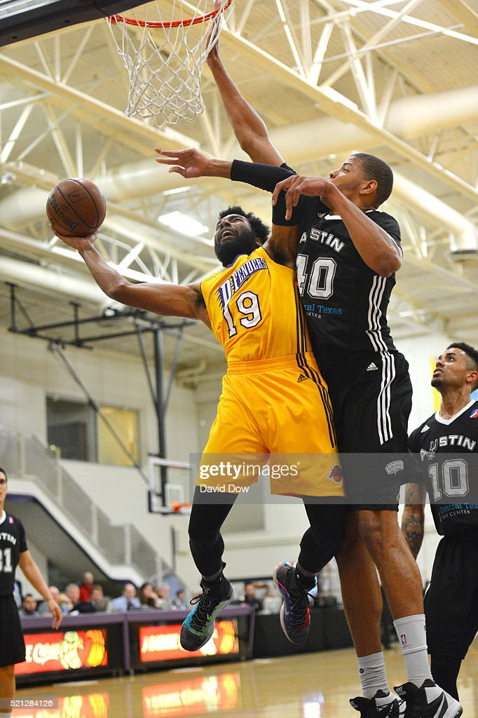 Austin Spurs v Los Angeles D-Fenders