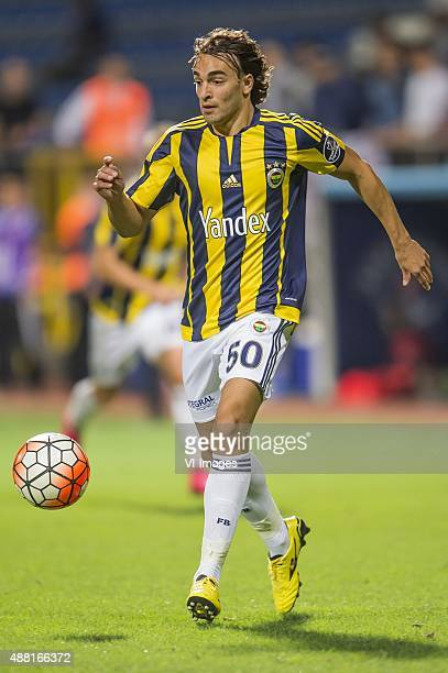 Lazar Markovic of Fenerbahce during the Super Lig match between Kasimpasa SK and Fenerbahce on September 13 2015 at the Recep Tayyip Erdogan stadium...