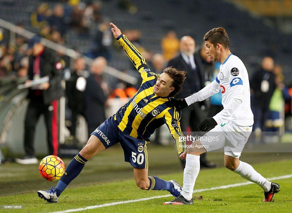 Fenerbahce vs Caykur Rizespor - Turkish Spor Toto Super Lig : News Photo