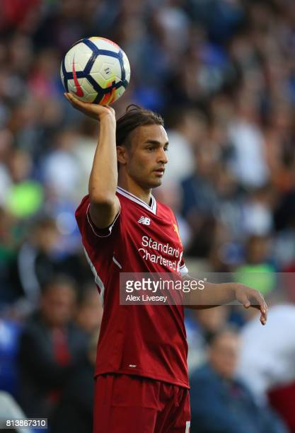 Lazar Markovic of Liverpool during a preseason friendly match between Tranmere Rovers and Liverpool at Prenton Park on July 12 2017 in Birkenhead...