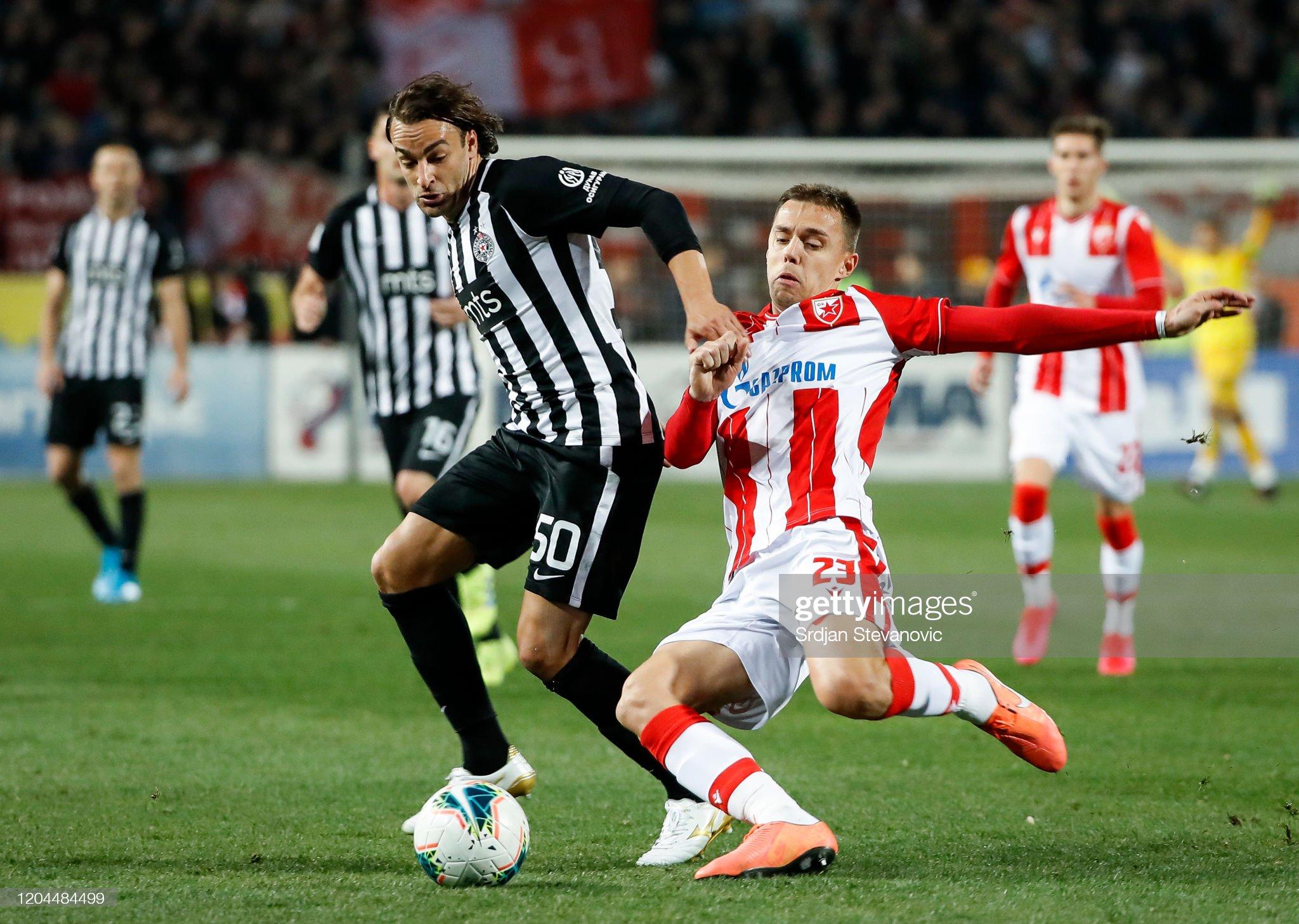 FK Red Star Belgrade vs FK Partizan - Serbian SuperLiga : Fotografia de notícias