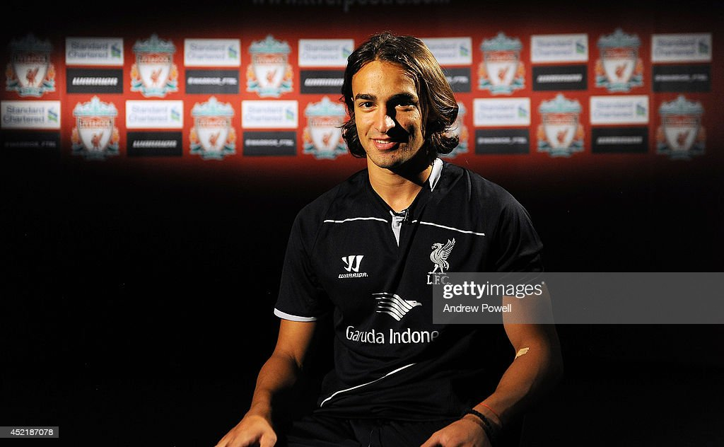 Liverpool FC Unveil New Signing Lazar Markovic : News Photo
