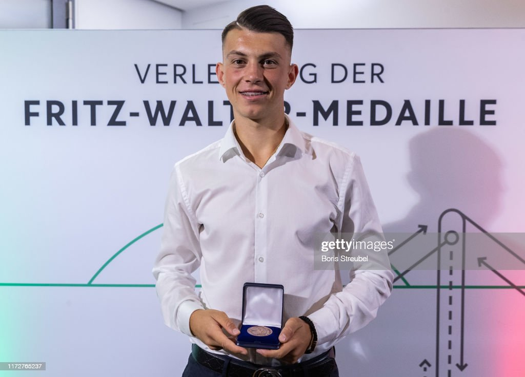 Fritz-Walter-Medaille Awarding Ceremony : News Photo