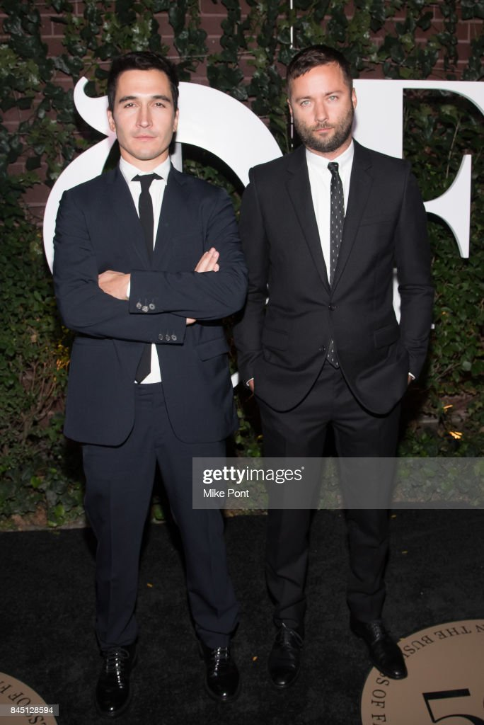 Lazaro Hernandez and Jack McCollough attend the 2017 BoF 500 Gala at Public Hotel on September 9, 2017 in New York City.