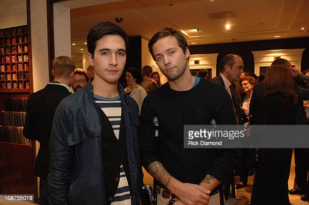 """Lazaro Hernandez and Jack McCollough during """"T Style"""" Magazine Launch Party at Bergdorf Goodman in New York City, New York, United States."""