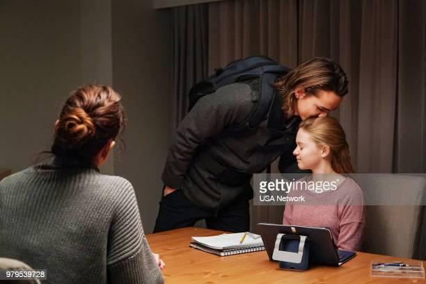 "Lazarus"" Episode 308 -- Pictured: Alex Neustaedter as Bram Bowman, Isabella Crovetti-Cramp as Grace Bowman --"