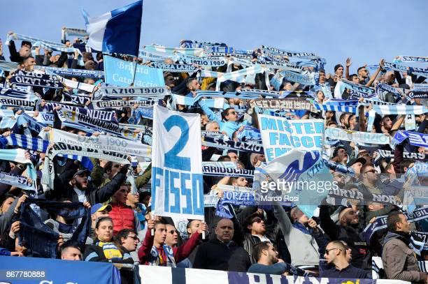 Lazio Fan during the Serie A match between Benevento Calcio and SS Lazio at Stadio Ciro Vigorito on October 29, 2017 in Benevento, Italy.