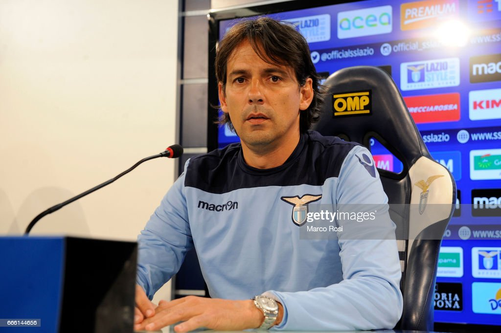 SS Lazio Press Conference