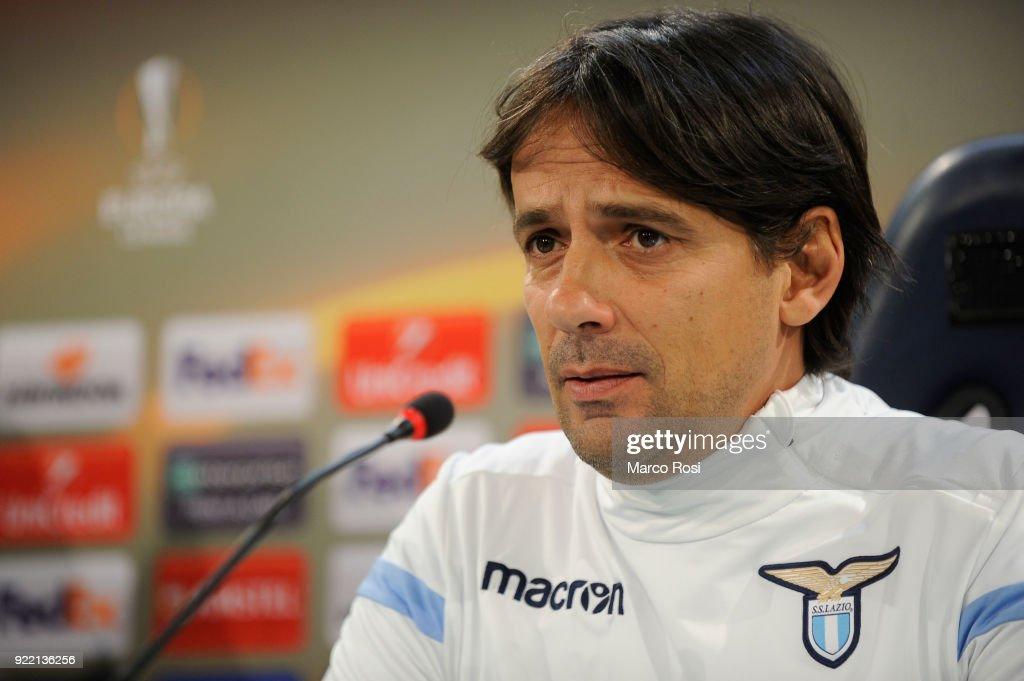SS Lazio Training Session And Press Conference
