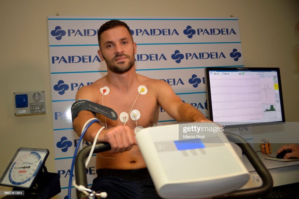 SS Lazio New Signing Riza Durmisi Medical Tests