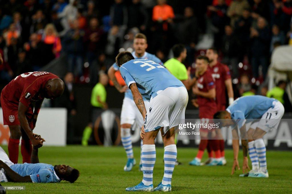 CFR Cluj v Lazio Roma: Group E - UEFA Europa League : News Photo