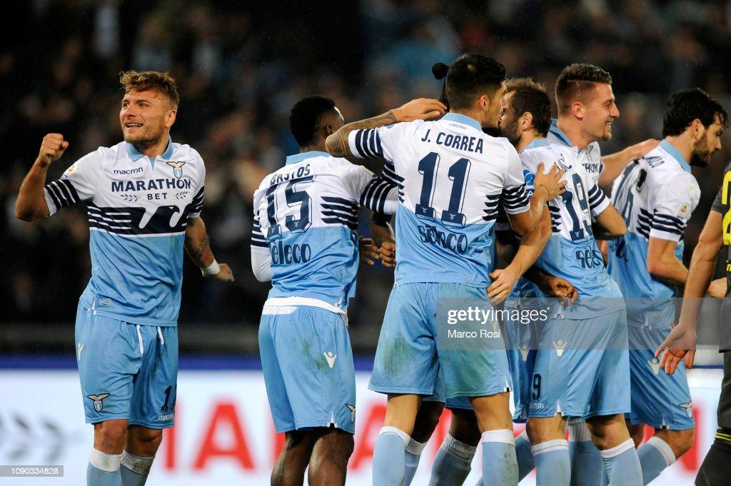 SS Lazio v Juventus - Serie A : ニュース写真