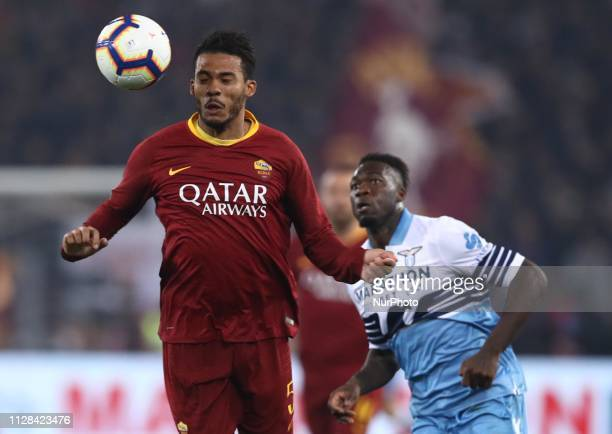 Serie A Juan Jesus of Roma at Olimpico Stadium in Rome Italy on March 2 2019