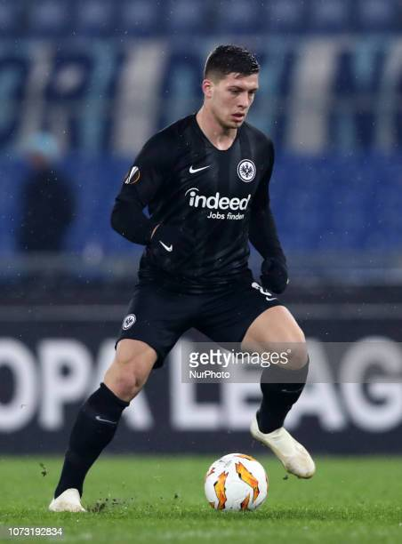 SS Lazio v Eintracht Frankfurt UEFA Europa League Group H Luka Jovic of Frankfurt at Olimpico Stadium in Rome Italy on December 13 2018 Photo Matteo...