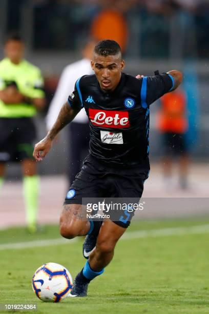 SS Lazio v SSC Napoli Serie A Allan Loudeiro of Napoli at Olimpico Stadium in Rome Italy on August 18 2018