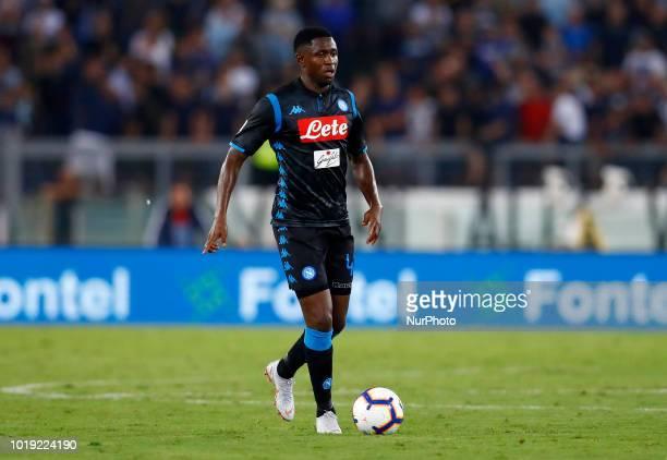 SS Lazio v SSC Napoli Serie A Amadou Diawara of Napoli at Olimpico Stadium in Rome Italy on August 18 2018