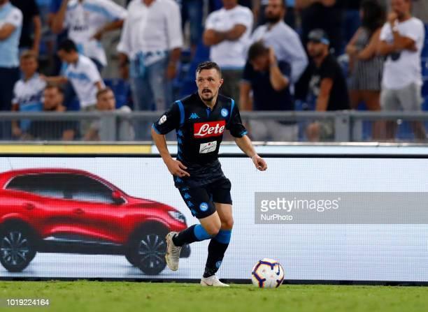 SS Lazio v SSC Napoli Serie A Mario Rui of Napoli at Olimpico Stadium in Rome Italy on August 18 2018