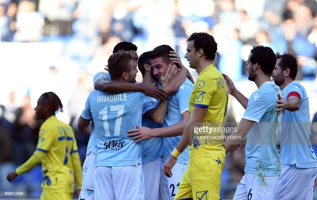 FBL-ITA-SERIEA-LAZIO-CHIEVO : News Photo