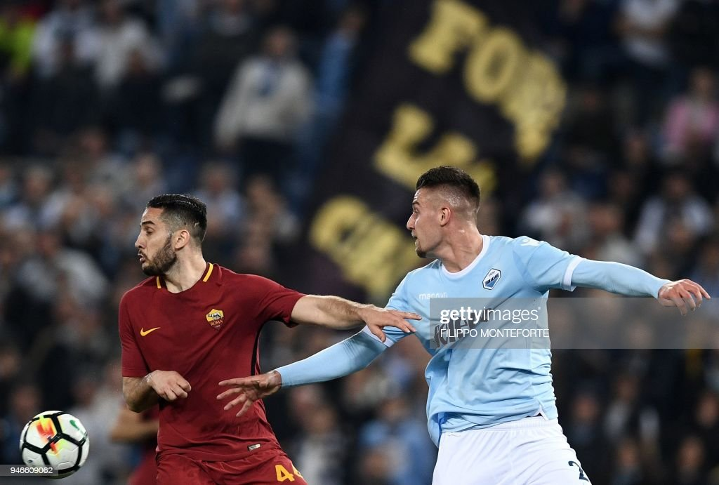 FBL-ITA-SERIEA-LAZIO-ROMA : News Photo