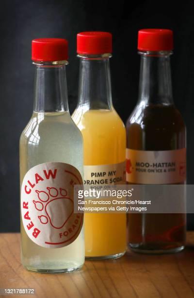 Lazy Bear restaurant has bottled cocktails to go seen on Thursday, April 9 in San Francisco, Calif.