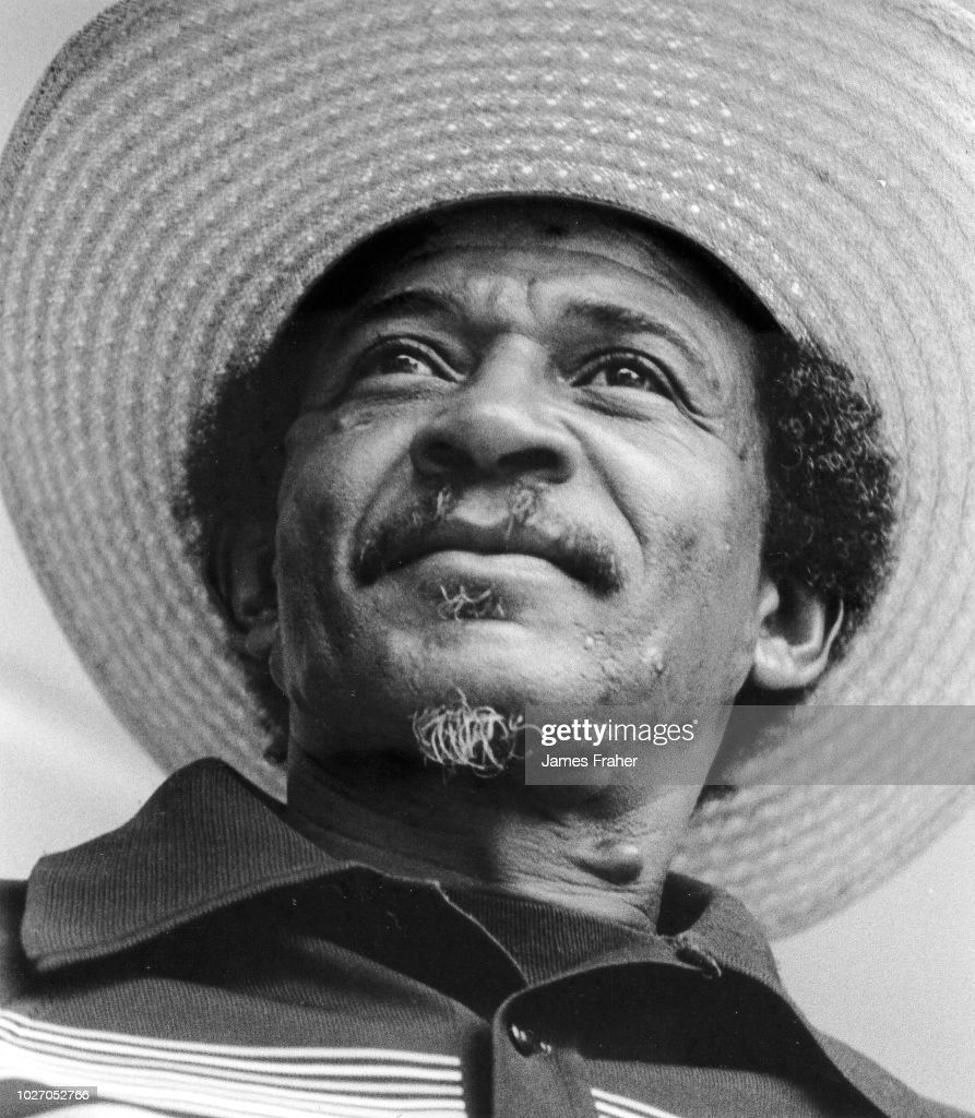 Lazy Lester performs on stage at The Chicago Blues Festival on June 9, 1989 in Chicago, Illinois, United States.