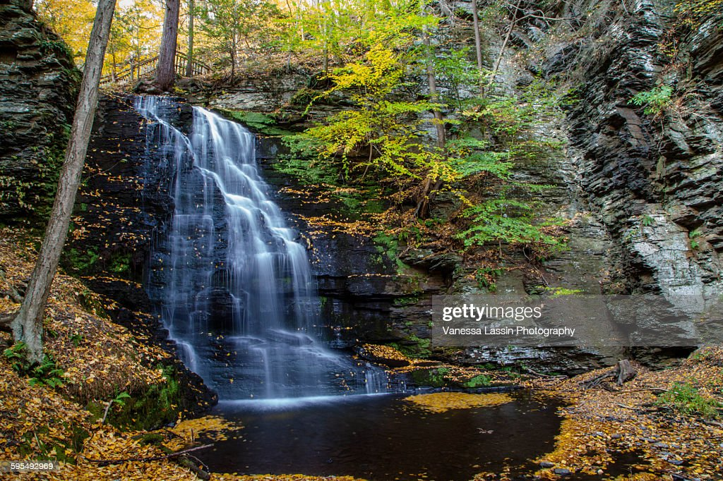 Lazy Water Fall 1 : Stock Photo