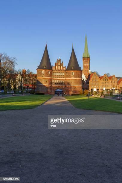 Lübeck, Holstentor (Schleswig-Holstein, Germany)