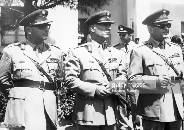 Le 20 décembre 1967 le Général Zoitakis Régent Stylianos Pattakos Ministre de l'Intérieur et le Colonel George Papadopoulos Premier Ministre...
