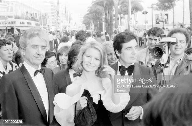 Le 33ème Festival de Cannes se déroule du 9 au 23 mai 1980 Alain RESNAIS réalisateur français venu présenter son film 'Mon oncle d'Amérique' Nicole...