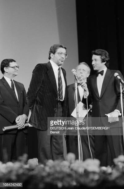 Le 33ème Festival de Cannes se déroule du 9 au 23 mai 1980. Cérémonie de clôture. Ettore SCOLA, réalisateur italien, Prix du scénario et des...