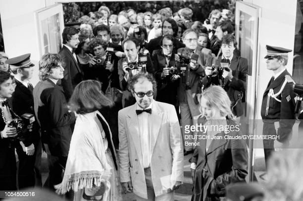 Le 33ème Festival de Cannes se déroule du 9 au 23 mai 1980 JeanLuc GODARD réalisateur francosuisse venu présenter son film 'Sauve qui peut ' au...