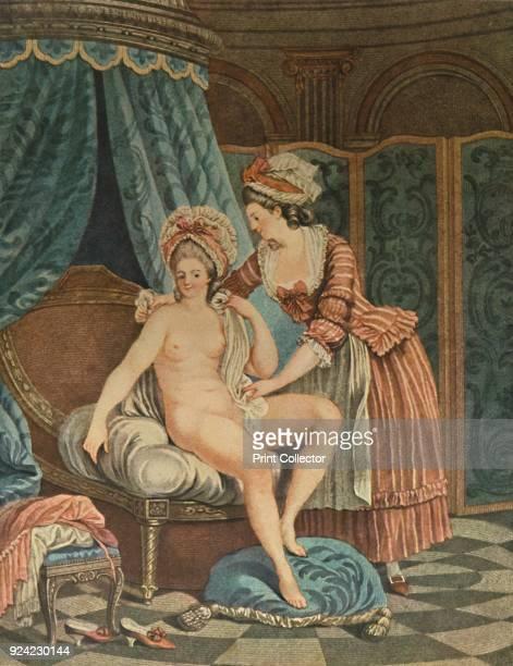 'Le Bain' c17651790 After NicolasRene Jollain From French ColourPrints of the XVIII Century [William Heinemann London 1913] Artist Louis Marin Bonnet