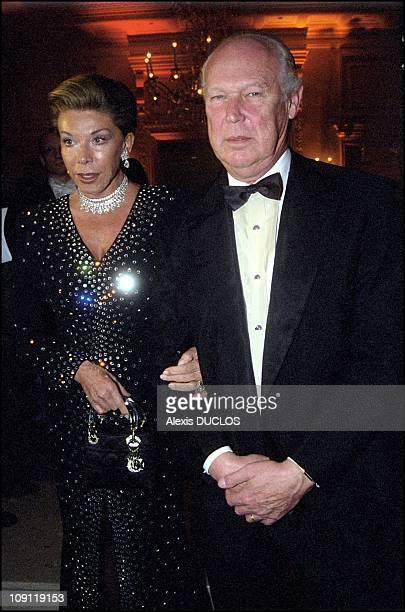 Le Bal De Paris On September 12Th 2000 In Paris France Victor Emmanuel Of Savoy And Wife Marina