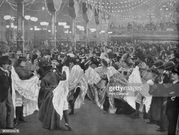 'Le Bal Du MoulinRouge' 1900 Moulin Rouge is best known as the spiritual birthplace of the modern form of the cancan dance From Le Panorama Paris la...