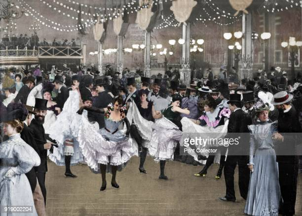 Le Bal Du Moulin-Rouge', 1900. Moulin Rouge is best known as the spiritual birthplace of the modern form of the can-can dance. From Le Panorama -...