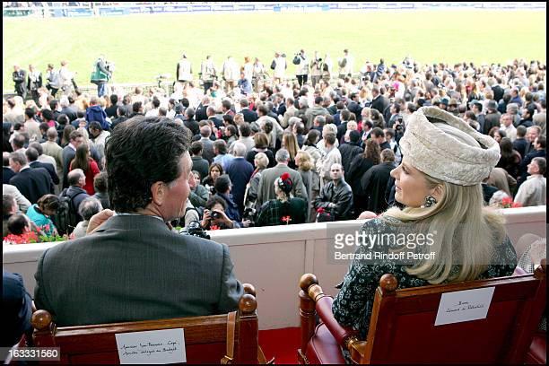 Le Baron and La Baronne Edouard De Rothschild at The 84th Prix De L' Arc De Triomphe In 2005 At The L' Hippodrome De Longchamp In Paris