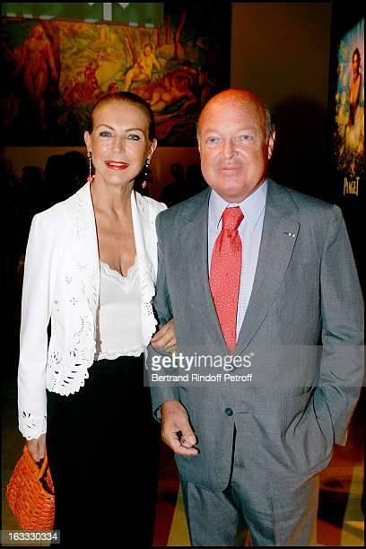 Le Baron and La Baronne Emmanuel Reille at the Piaget Evening At The Grand Foyer Du Palais De Chaillot To Launch De La Montre Possession