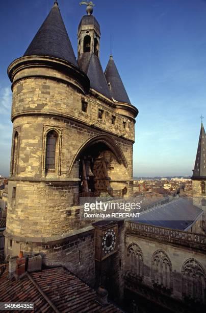 Le beffroi de la Grosse cloche de Bordeaux France