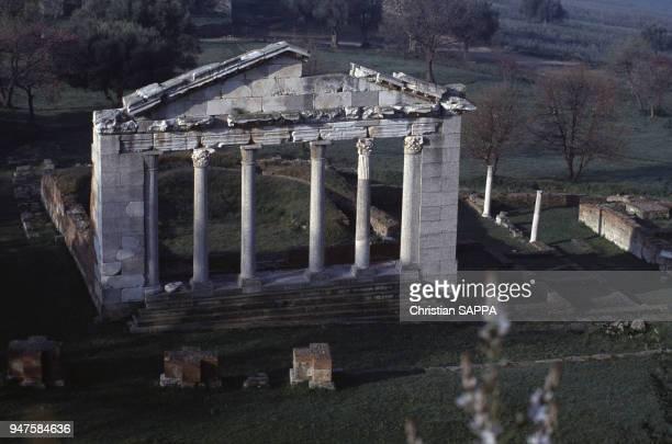 Le Bouleterion de la cité grecque d'Apollonie d'Illyrie Albanie