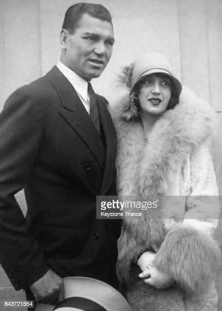 Le boxeur allemand Max Schmeling et sa femme Anny Ondra circa 1930