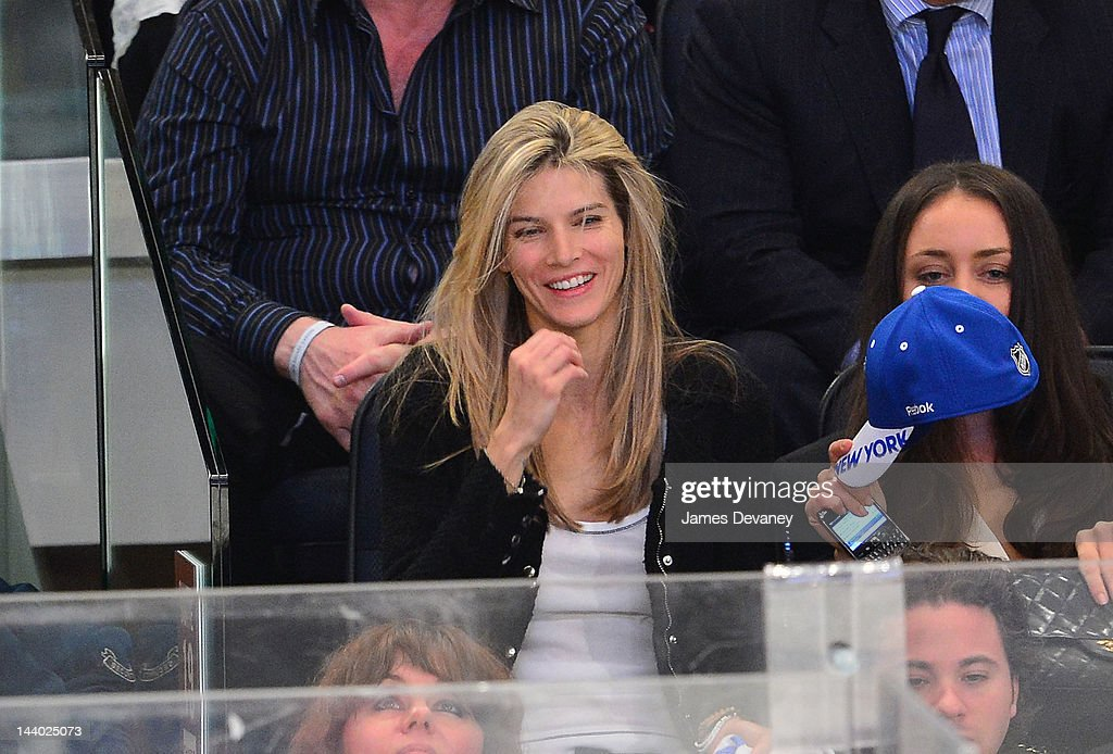 Le Call attends the Washington Capitals vs New York Rangers playoff game at Madison Square Garden on May 7, 2012 in New York City.