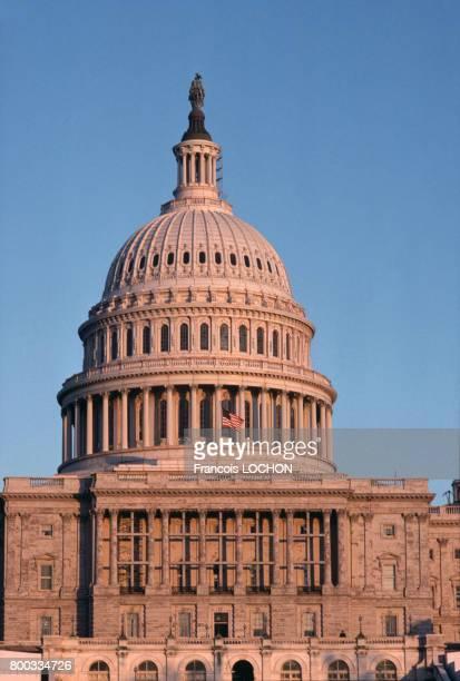 Le Capitole des ÉtatsUnis en novembre 1980 à Washington aux ÉtatsUnis