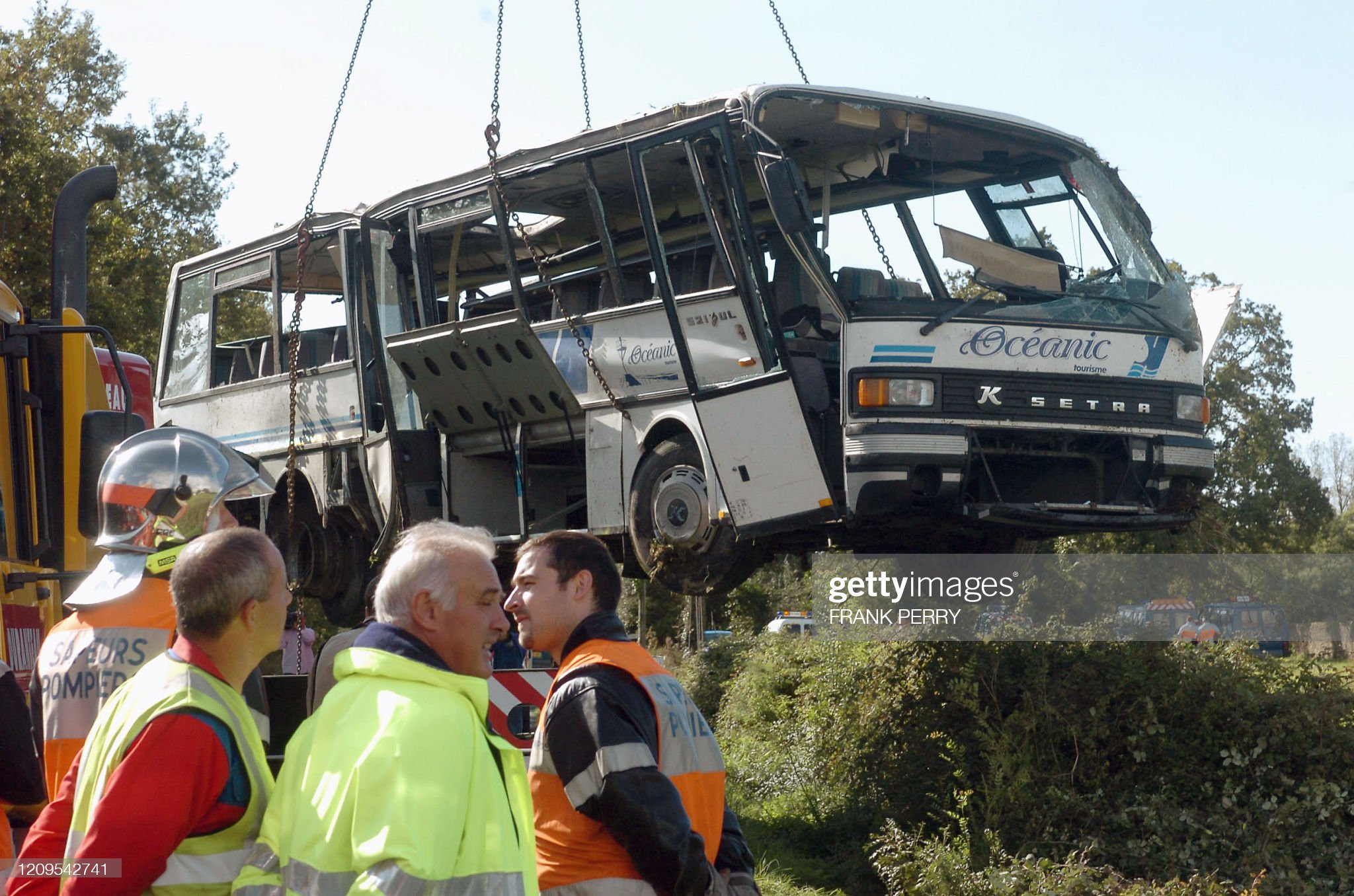 TRANSPORT-ACCIDENT-ROUTE : News Photo