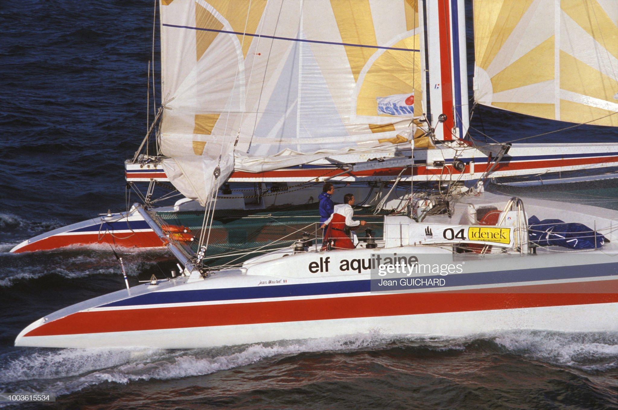 le-catamaran-elf-aquitaine-au-dpart-de-l